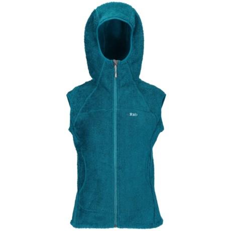 Rab Boulder Vest - Polartec® Thermal Pro® Fleece, Hooded (For Women)