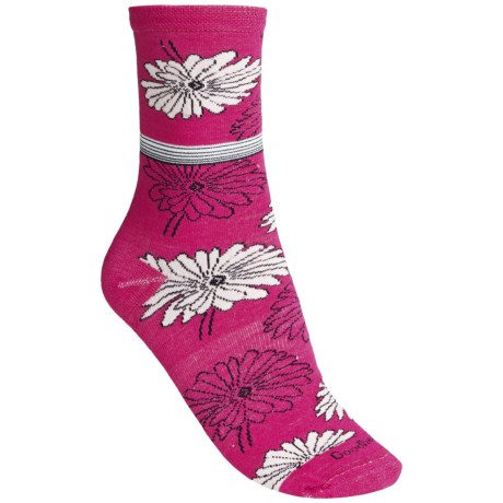 Goodhew Posey Pop Socks - Merino Wool, Crew (For Women)