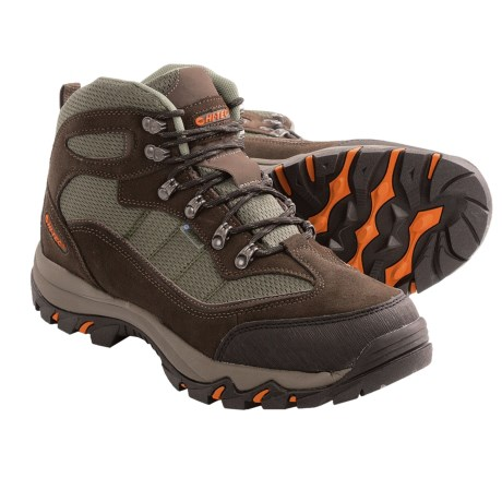 Hi-Tec Skamania Mid Hiking Boots - Waterproof, Suede (For Men)