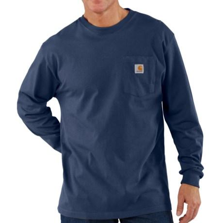 Carhartt Workwear T-Shirt - Long Sleeve (For Big Men)