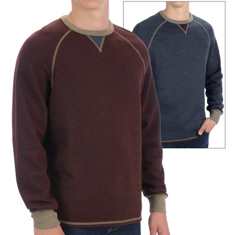 Tommy Bahama Bob Twillin Sweatshirt - Reversible, Cotton-TENCEL® (For Men)