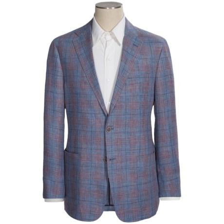 Hickey Freeman Glen Plaid Sport Coat - Linen-Wool (For Men)