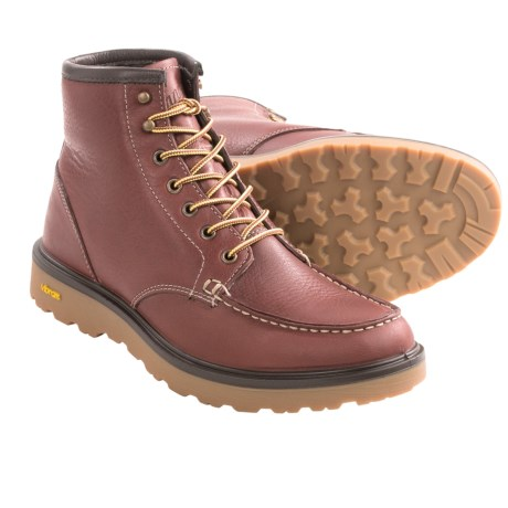 Nice Quality Boot - Review of Danner Lace Work Boots - Moc Toe ...