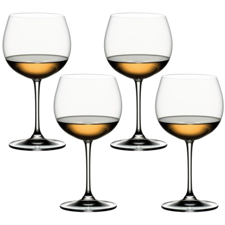 Riedel Vinum XL Chardonnay Wine Glasses - Set of 4