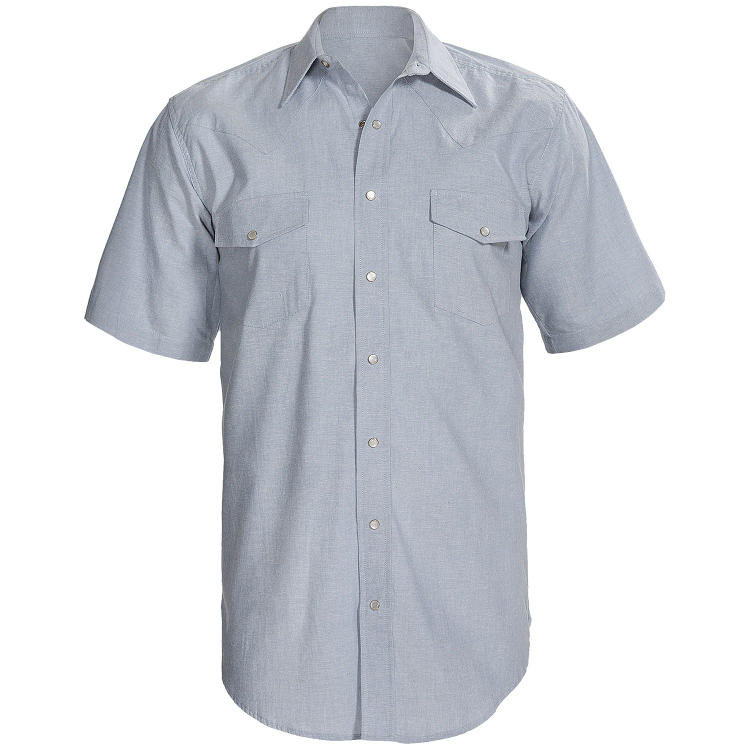 Western Snap Front Shirt For Big And Tall Men 8006p