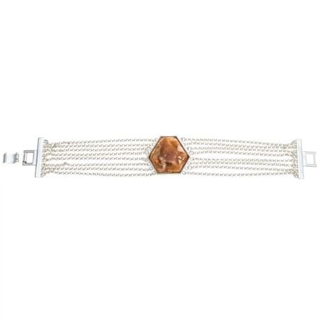 Aluma USA Green Opal Multi-Chain Bracelet