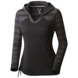 Mountain Hardwear DrySpun Burnout Hoodie - UPF 25 (For Women)