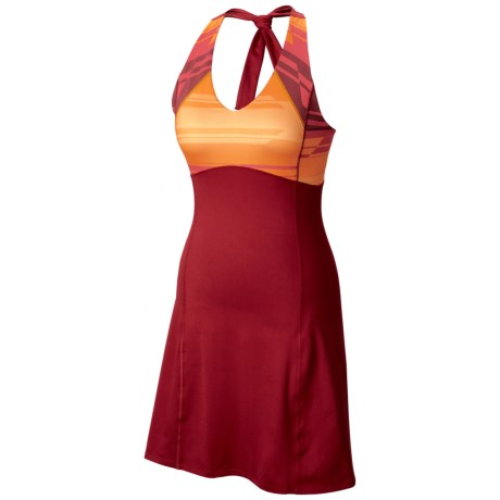 Mountain Hardwear Butter Halter Dress - UPF 50, Sleeveless (For Women)