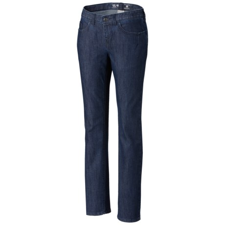 Mountain Hardwear Stretchstone Denim Jeans - UPF 50, Slim Fit, Low Rise (For Women)