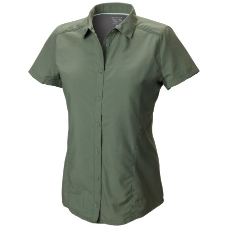 Mountain Hardwear Canyon Shirt - UPF 30, Short Sleeve (For Women)