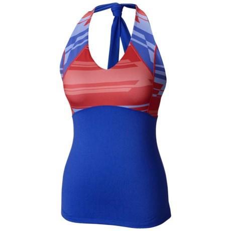 Mountain Hardwear Butter Tank Top - UPF 50, Built-In Shelf Bra, Tie Halter Neck (For Women)
