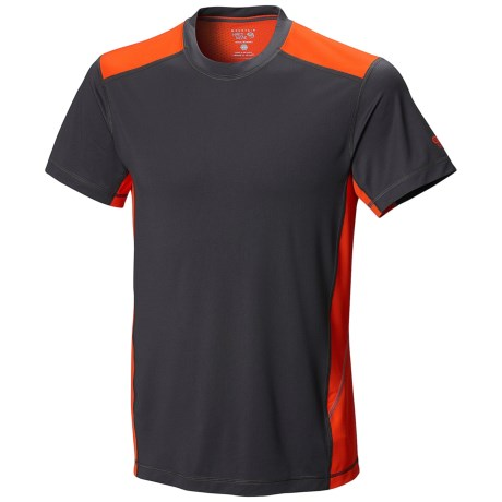 Mountain Hardwear DryHiker Justo T-Shirt - UPF 50, Short Sleeve (For Men)