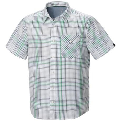 Mountain Hardwear Drummond Shirt - Short Sleeve (For Men)