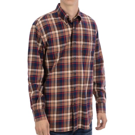 Pendleton Canterbury Cloth Shirt - Pima Cotton-Merino Wool, Long Sleeve (For Men)