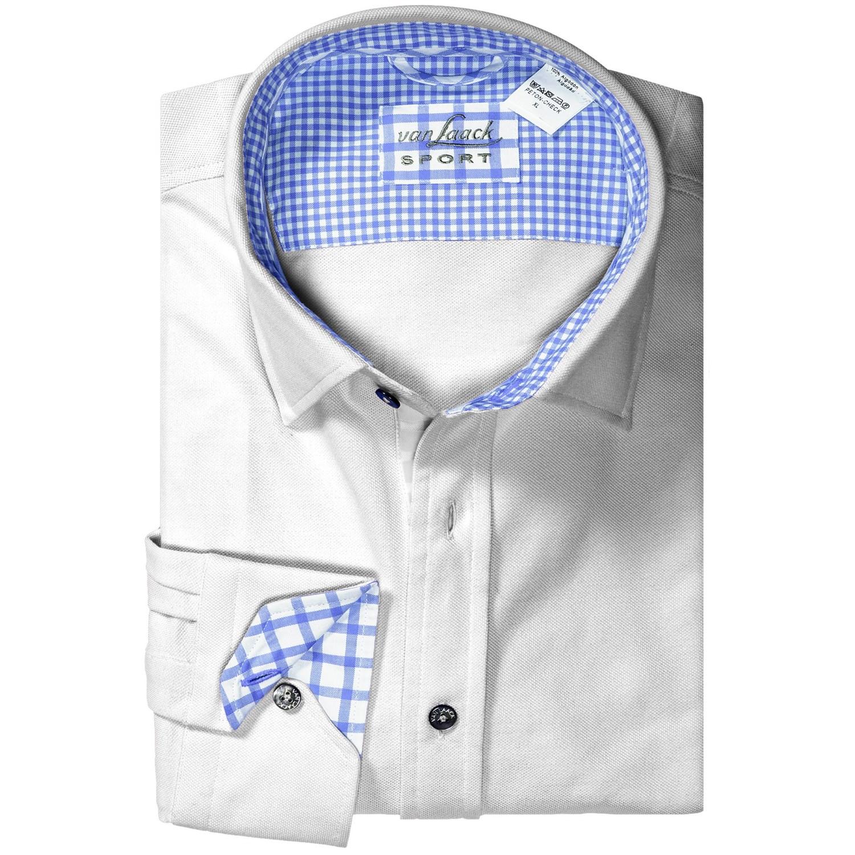 van laack peton check knit shirt for men 8021t save 81. Black Bedroom Furniture Sets. Home Design Ideas