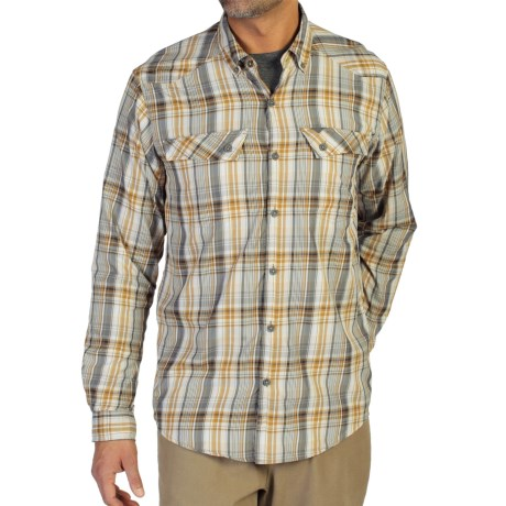 ExOfficio Minimo Plaid Shirt - UPF 50+, Long Sleeve (For Men)
