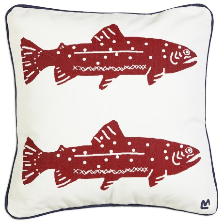 Chandler 4 Corners Sailcloth Canvas Decor Pillow - 20x20""