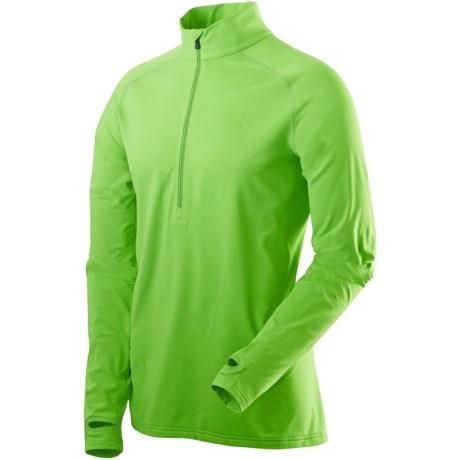 Haglofs Intense Shirt - Zip Neck, Long Sleeve (For Women)