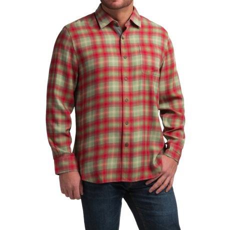Nat Nast Forest Through the Trees Plaid Shirt - Silk, Long Sleeve (For Men)