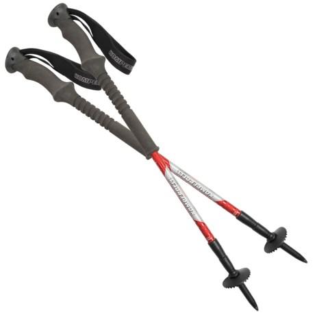 Komperdell Titanal Contour Trekking Poles - Anti-Shock