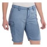 White Sierra Island II Shorts - UPF 30, Quick-Dry Nylon (For Women)