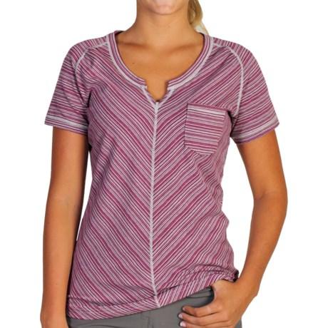 ExOfficio Go-To Pocket Stripe T-Shirt - Short Sleeve (For Women)