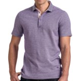Stone Rose Oxford Knit Polo Shirt - Short Sleeve (For Men)