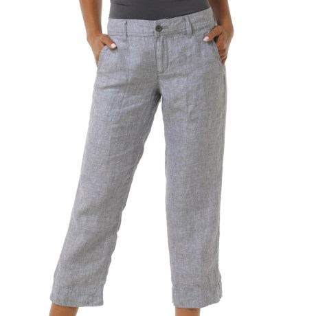 Horny Toad Lithe Capris - Linen (For Women)