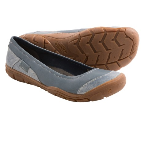 Keen Rivington Ballerina CNX Shoes - Leather, Slip-Ons (For Women)