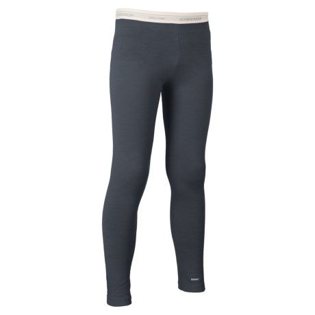 Icebreaker Oasis Base Layer Pants - UPF 30+, Merino Wool (For Little and Big Kids)