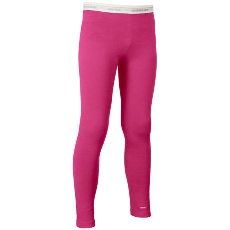 Icebreaker Oasis Base Layer Pants - UPF 30+, Merino Wool (For Little and Big Kids)