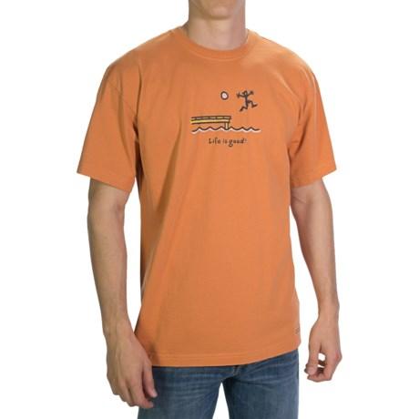 Life is good® Crusher™ T-Shirt - Short Sleeve (For Men)