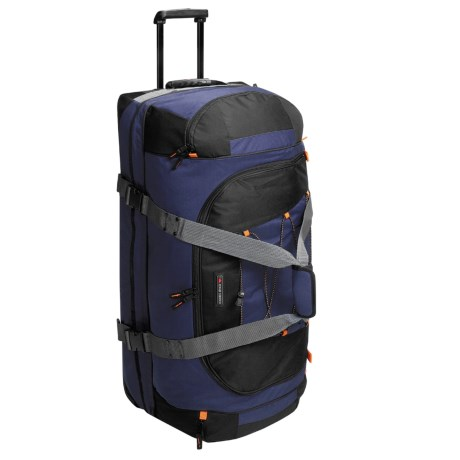 "High Sierra Rolling Duffel Bag - 36"" Drop Bottom"