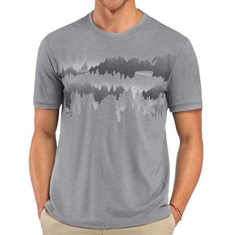 Icebreaker Tech Lite National Park Shirt - Short Sleeve (For Men)