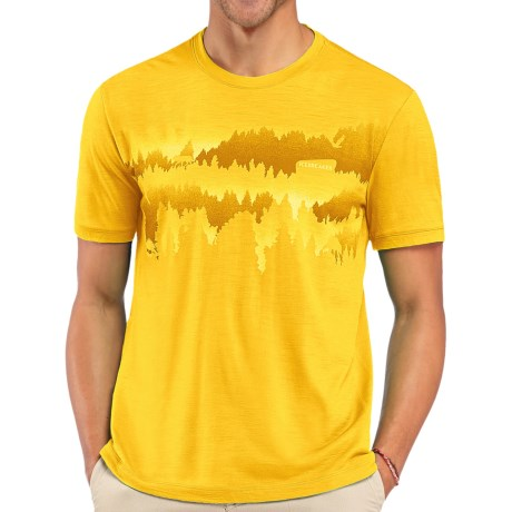 Icebreaker Tech Lite National Park Shirt - Short Sleeve (For Men)