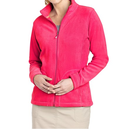 Woolrich Andes Fleece Jacket (For Women) in Magenta - Closeouts