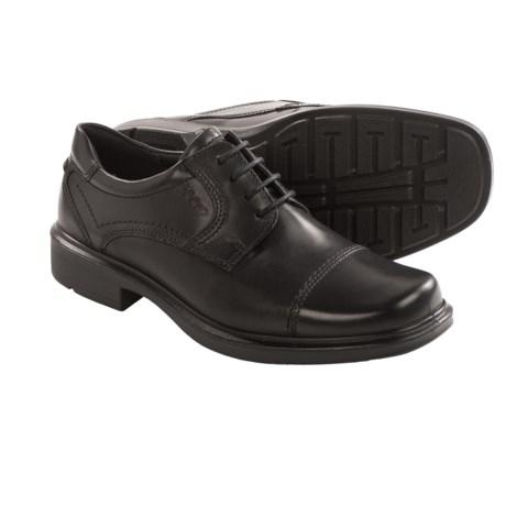 ECCO Helsinki Cap Toe Shoes - Leather (For Men)
