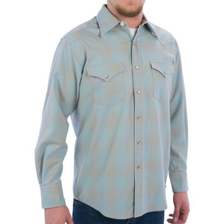 Pendleton Western Canyon Wool Shirt - Snap Front, Long Sleeve (For Men)