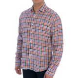 Toscano Fancy Linen Shirt - Long Sleeve (For Men)