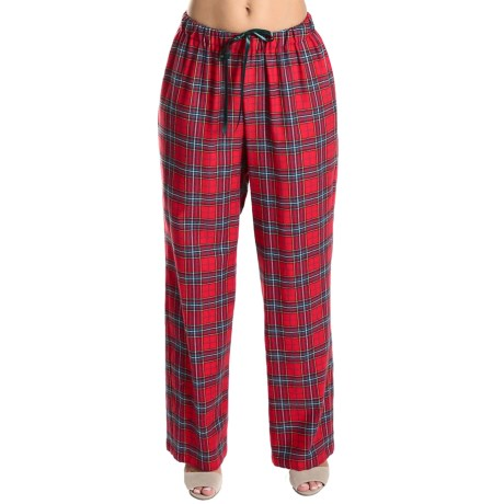 Rosch Cotton Flannel Lounge Pants (For Women)