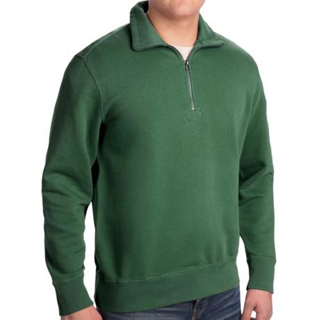 Woolrich Standing Stone Sweatshirt - Zip Neck, Long Sleeve (For Men)