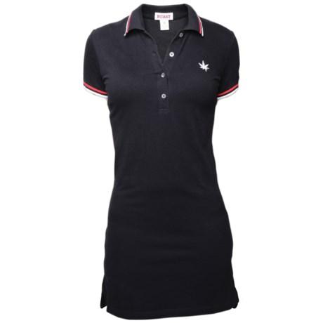 Boast USA Tipped Pique Polo Dress - Short Sleeve (For Women)