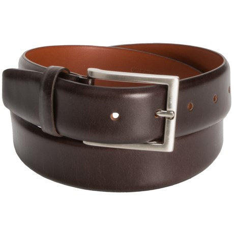 Tardini Smooth Leather Belt (For Men)