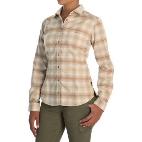 Mountain Hardwear SonaLake Flannel Shirt - Long Sleeve (For Women)