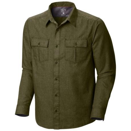Mountain Hardwear Frequentor Flannel Shirt - UPF 50, Long Sleeve (For Men)