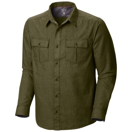 Mountain Hardwear Frequentor Flannel Shirt - UPF 50, Long Sleeve (For Men)