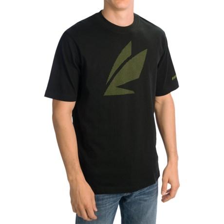 Sage Pattern Fly T-Shirt - Short Sleeve (For Men)