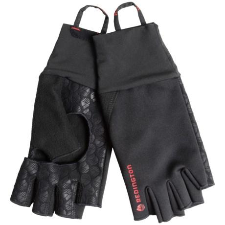 Redington Palm Free Fingerless Soft Shell Gloves (Men)