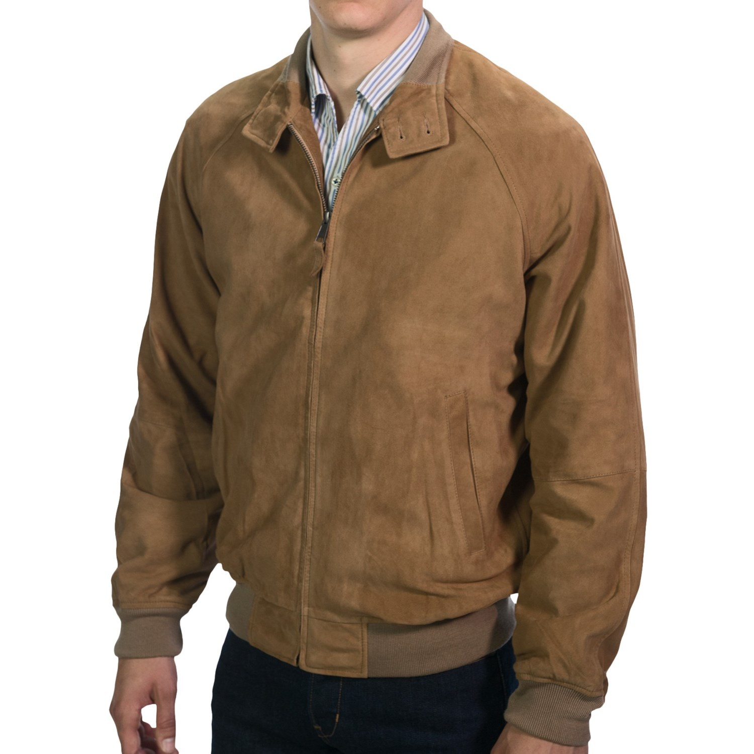 Golden Bear Goat Suede Jacket For Men 8195u Save 50