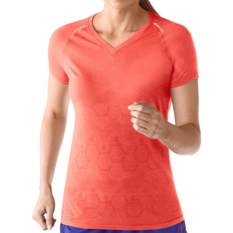 SmartWool PhD Run Shirt - UPF 30, Merino Wool, Short Sleeve (For Women)